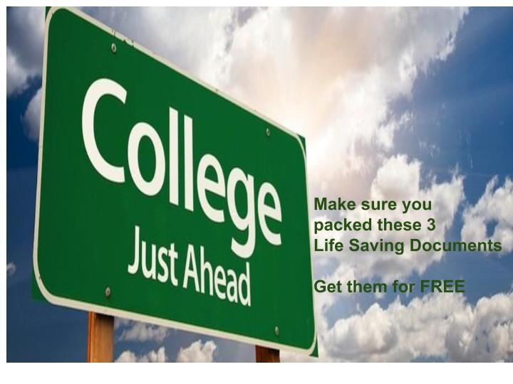 If You Have A College Student Please Read This It Could Save You A - Free legal docs